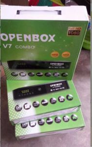 Digital HD Combo Receiver Openbox V7 DVB-T2 DVB-S2 Combo Receiver pictures & photos