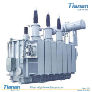 High Voltage 35~110kv Power Transmission/Distribution Transformer Step Down Furnace Transformer / 110kv Voltage Regulating Power Oil Immersed Power Transformer pictures & photos