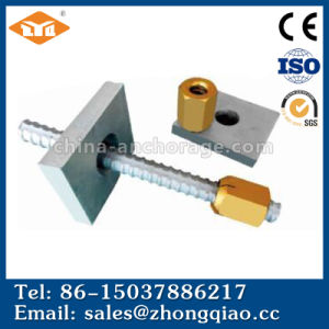Prestressing Concrete Bar, Post-Tensioning Bar, Dome Anchor Nut and Plates pictures & photos