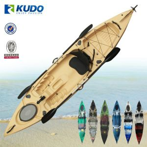 LLDPE Roto0molding High Quality Durable Fishing Boat Single Sit on Top Fishing Kayak