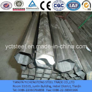 Q195 Galvanized Welded Pipe with Hexagonal Section Shape pictures & photos