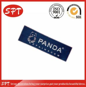 High Quality Custom Woven Clothing Adhesive Label