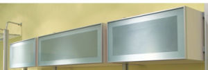 Kitchen Cabinet Aluminum Frame Glass Door (zhuv) pictures & photos