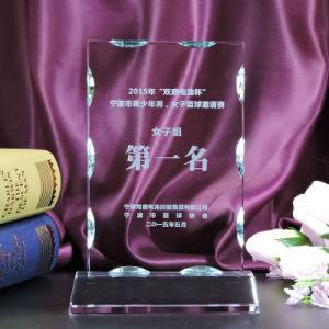 Custom Novel Crystal Glass Award Trophy for Business Souvenir Gift pictures & photos