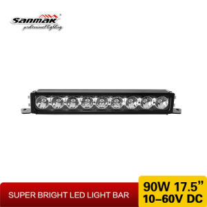 20 Inch 120W Three Brackets Single Row LED Light Bar pictures & photos