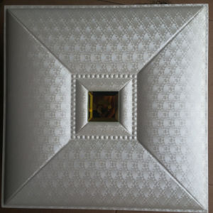 3D PU Leather Wall Panel for Decoration (HS-MK024) pictures & photos