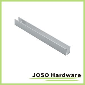 Frameless Sliding Shower Door Header Extrusion (AL102) pictures & photos