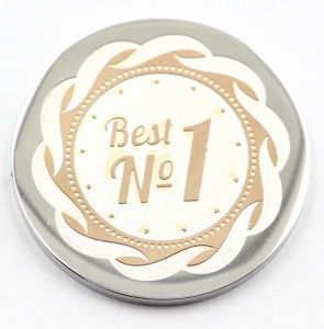 No. 1 Badge Coin Plate for Memory Gift pictures & photos