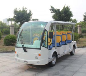 Ce Certificated 11 Seater Electric Sightseeing Bus for Sale Dn-11 with OEM Service pictures & photos