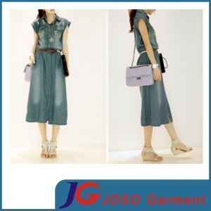Blue Length Jeans Skirts Online for Women (JC2115) pictures & photos