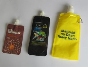 Food Packaging Bag/Drink Packing Plastic Bag Stand up Jelly Juice Bag with Spout pictures & photos