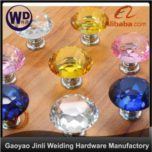 Crystal Furniture Glass Knob Gk-003 pictures & photos