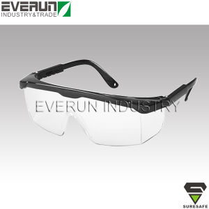 ER9301 CE EN166 Safety glasses dark lens Safety spectacles pictures & photos