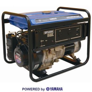 Economical Home Use Single Phase Gasoline Generator pictures & photos