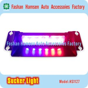 Traffic Auto Emergency Light Sucker LED Dash Warning Strobe Light for Police Fire Fighter pictures & photos