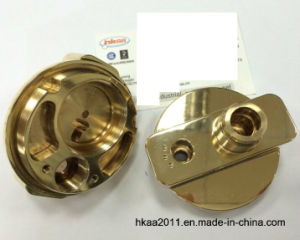 CNC Milling Brass Machinery Parts as Brass Adapter pictures & photos