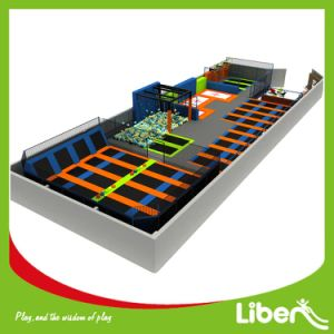 Indoor Large Adult Trampoline Park for Sale pictures & photos