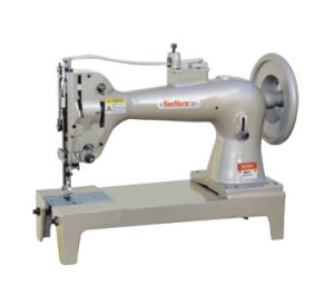 Top and Bottom Feed Extra Heavy Duty Lockstitch Sewing Machine pictures & photos