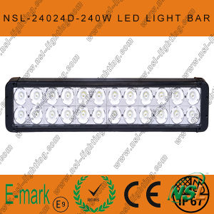 240W CREE 20inch LED Work Light, 24LEDs Offroad Fog Light Bar. pictures & photos