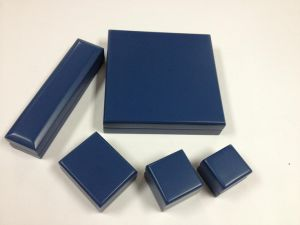 Blue Matte Jewelry Set Wooden Box pictures & photos