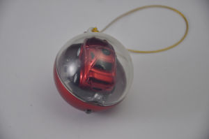 Christmas Gifts Plastic Toy Ball with Small RC Car