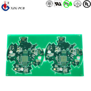 4layers PCB Printed Circuit Board with 0.2mm BGA pictures & photos