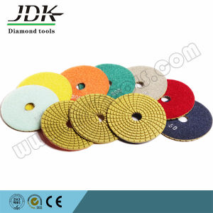 D80mm-180mm Iamond Flexible Polishing Pads for Granite and Marble pictures & photos