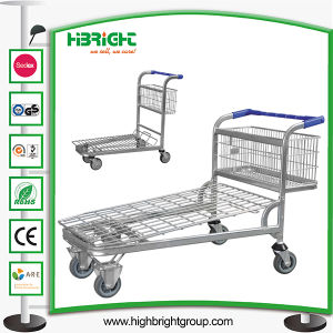 Supermarket Transport Shopping Trolley Cart Cargo pictures & photos