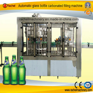 Glass Bottle Soda Beverage Automatic Filling Machine pictures & photos