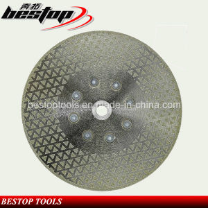 Double Sides Electroplated Diamond Saw Blade for Stone Cutting pictures & photos