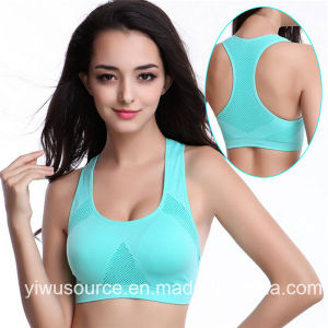 New Style Sport Bra Breathable Seamless Sexy Underwear (SR4236) pictures & photos
