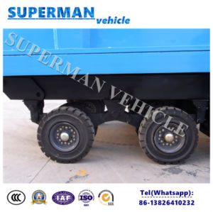 20t Agriculture Use Cargo Dump Trailer/ Tipping Trailer/Drawbar Trailer pictures & photos