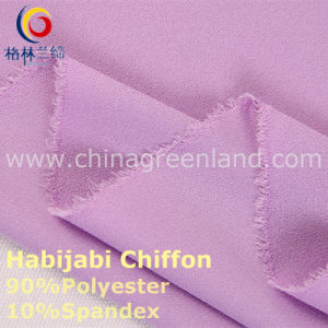 100d Polyester Chiffon Two-Way Spandex Fabric for Fashion Textile (GLLML234) pictures & photos