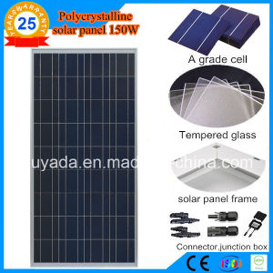 Solar Panels 150W Polycrystalline Mainly Use for Solar Power System pictures & photos