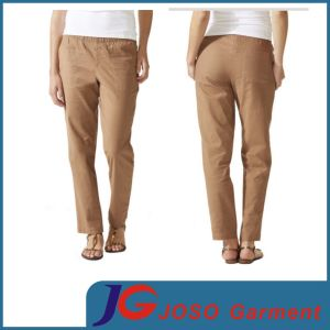 Sales in Chino Formal Pants Women′s Cotton Cropped Twill (JC1404) pictures & photos