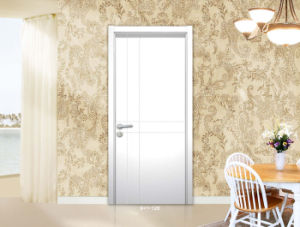 Trustworthy PVC Wooden Door PVC Lamination Sheet Wood Door