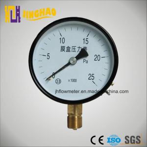 CO2 Pressure Gauge (JH-YL-TFE) pictures & photos