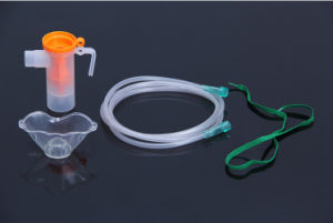 Wholesale Medical Disposable Pediatric Nebulizer Mask Set with Cup and Tube pictures & photos