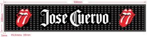 3D Embossed Logo Soft PVC Bar Mat pictures & photos