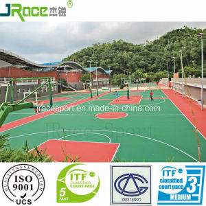 Green Product Outdoor Rubber Sport Surface for Arena pictures & photos