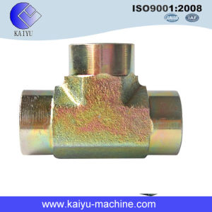 (5605 series) BSPT Female Tee / ′three Way Pipe Fitting pictures & photos