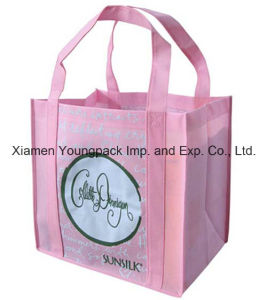 Eco Friendly Large Non-Woven Cloth Shopper Grocery Tote Bag pictures & photos