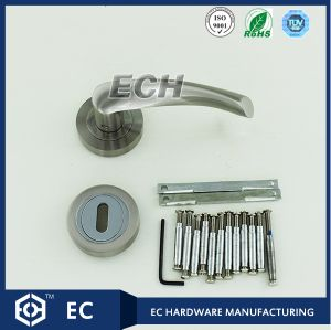 Main Door Zinc Alloy Handle with Sn Finish (52107) pictures & photos