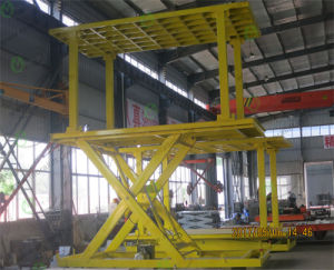 CE Approved Home Basement Scissor Car Lift pictures & photos