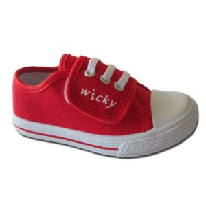 Best Seller and Comfortable Branded Kid Casual Canvas Shoes pictures & photos