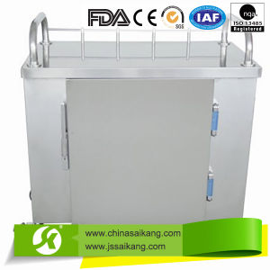 Stainless Steel Anaesthetic Treatment Hospital Trolley with Drawers (CE/FDA/ISO) pictures & photos
