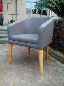 PU Leather Upholstered Dining Chair