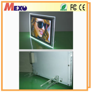 Ultra Slim LED Light Box with Magnetic-Open (CST03-A4L-01) pictures & photos