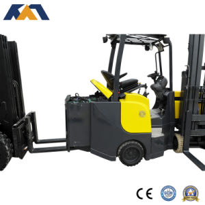 4 Way Electric Forklift Truck Narrow Aisle Forklift for Sale pictures & photos