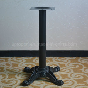 Antique Cross Four Prong Cafe Cast Iron Table Leg (SP-MTL125) pictures & photos